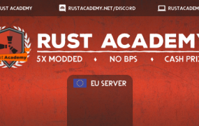 [EU] RustAcademy.net 5X No BPs [Loot+/Shop/Kits] JUST WIPED