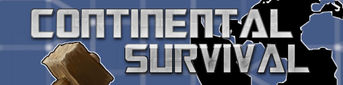 [UK/EU] Continental Survival 2x Earth|Kits|NoBP|Noobs|Loot|Craf