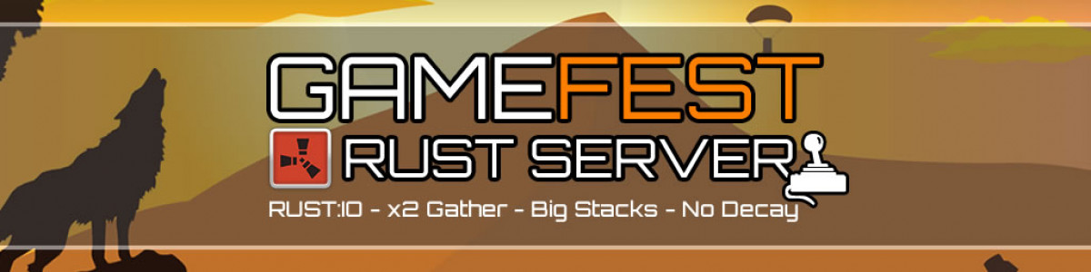 [UK] GameFEST Rust Server