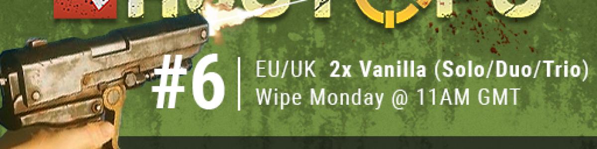 [EU/UK] RustOps.com #6 | Max 3 | 2x Vanilla+ |BP WIPED 29/6 2 d