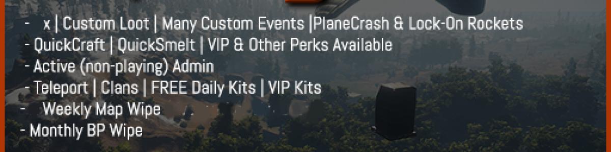 [EU] RustyNuts.gg 5x NoBPs [Loot+ TP Kits Clans Events]