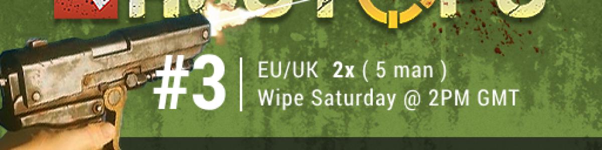 [EU/UK] RustOps.com #3 | Max 5 | 2x Vanilla+ | BP WIPED 27/6 4