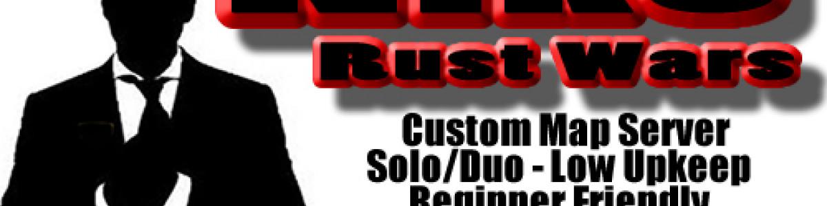 NIKOS RUST WARS - Solo Duo   Custom Map   Low UpKeep 25%   Begi