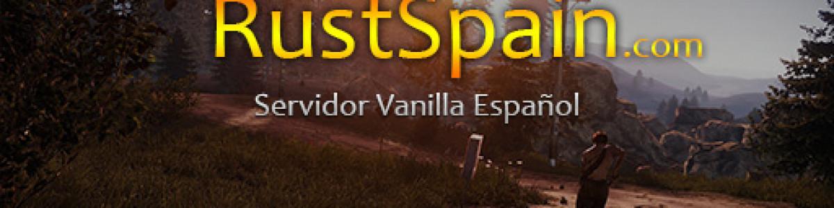 [EU/ESP] RustSpain.com - MAIN (FullWipe 25/6)