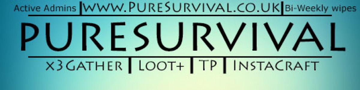 [EUK]PureSurvival x3 TP/SetHome/Kits/Events 04/06